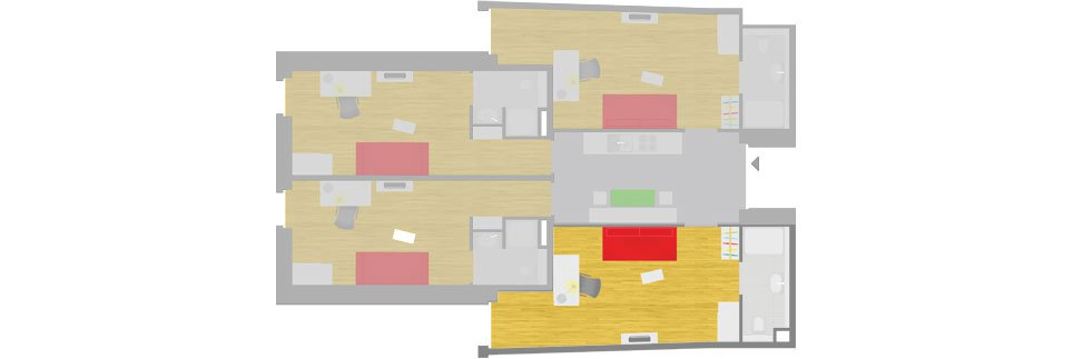 OeAD-Guesthouse Gasgasse Floor Plan A