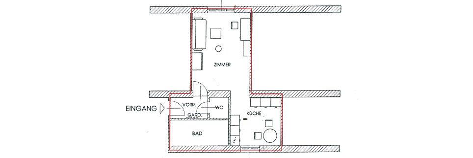 OeAD-Apartment Hafnersteig Floor Plan D