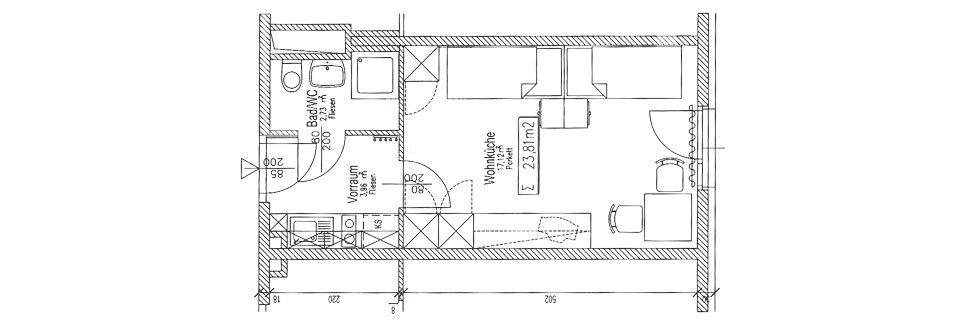 OeAD-Apartment Obermuellnerstrasse Floor Plan N