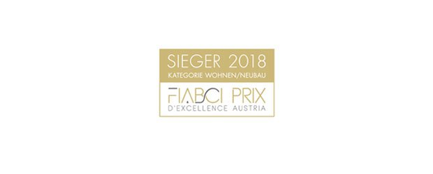 Winner 2018 FIABCI Prix D'Excellence Austria