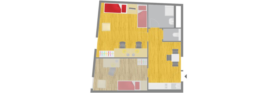 OeAD-Guesthouse Sechshauser Strasse Floor Plan H