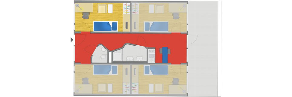 OeAD-Guesthouse Tigergasse Floor Plan A